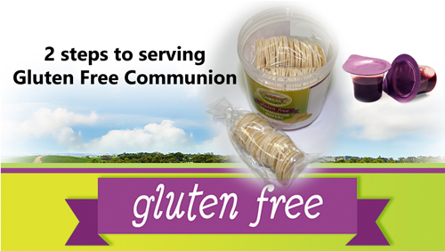 2 Steps to Serving Gluten Free Communion