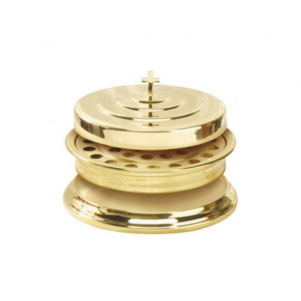 Brass Communion Tray Cover 11 TRAY COVER ONLY Serveware