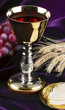 Communion Chalice And Paten