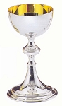 Chalice - Hand Crafted Silver Plate Communion Cup