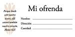 Offering Envelopes - Spanish