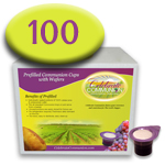 Prefilled Communion Cups with Wafers - Box of 100