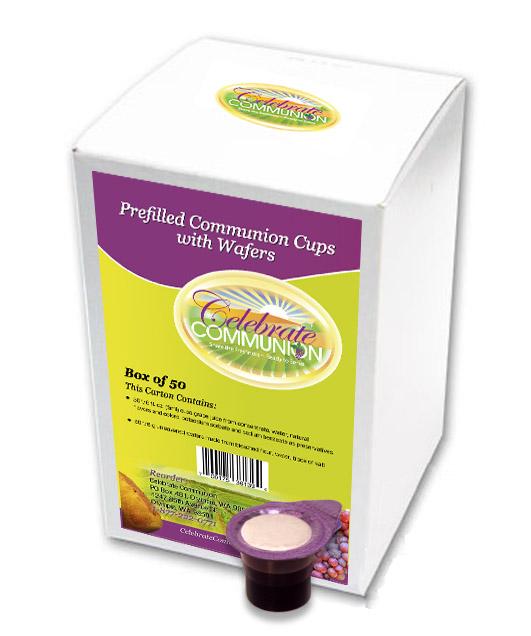 Travel Communion Set | 50 Prepackaged Communion Sets