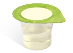 FREE SAMPLE - Prefilled Communion Cups White Grape with Wafer