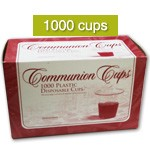 Communion Cups<br>Disposable<br><b>Box of 1000</b>
