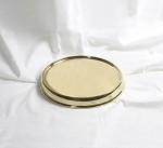 Communion Tray Base<br>Brass Tone Over Stainless Steel