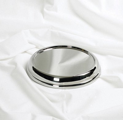 Communion Tray Base - Silver Tone Over Stainless Steel