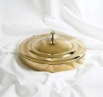 Communion Tray Cover<br>Brass Over Stainless Steel