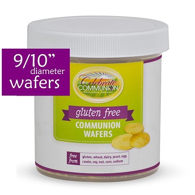 Gluten Free Communion Wafers - Contains about 350  9/10 inch Wafers