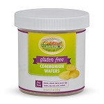 Gluten Free Communion Wafers<br><b>Container of about 130 Wafers</b>
