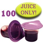 Prefilled Communion Cups Without Wafers - Box of 100