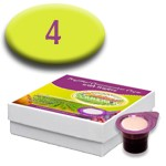 Prefilled Communion Cups with Wafers Box of 4