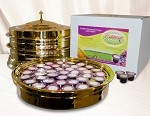 Complete Communion Service for 120 People - Brass