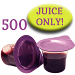 Prefilled Communion Cups Without Wafers - Box of 500