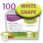 Prefilled Communion Cups with White Grape Juice - Box of 100
