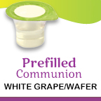 White grape, wafers